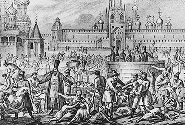 Великий голод 1601-1603 годов, который во многом стоил трона Годуновым.
