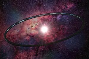 Астроинженерное сооружение в виде кольца