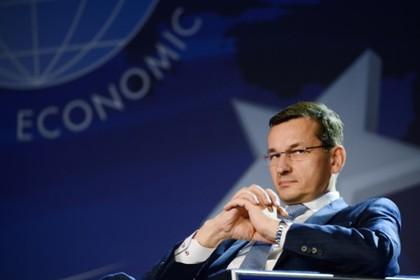 Польский премьер увидел в «Северном потоке-2» угрозу безопасности Украины