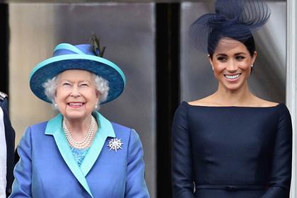 Королева Елизавета II и Меган Маркл