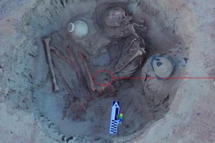 Внутри умершей египтянки нашли скелет ребенка