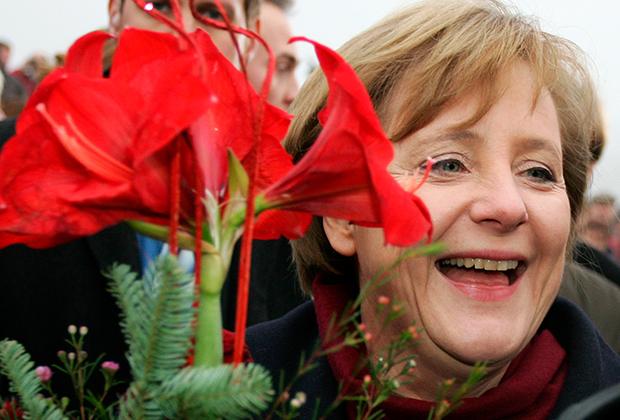 Ангела Меркель. 2005 год