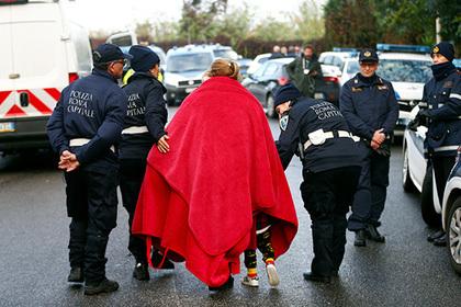 Власти Рима покарали цыганскую мафию