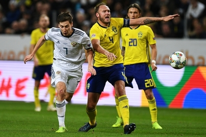 Сборная России проиграла Швеции и осталась вне элиты Лиги наций