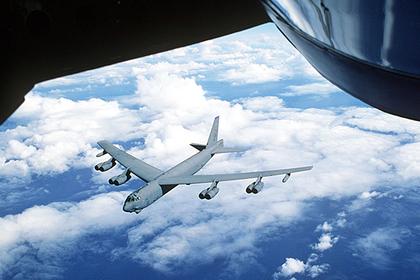 Американские бомбардировщики пролетели рядом с Китаем