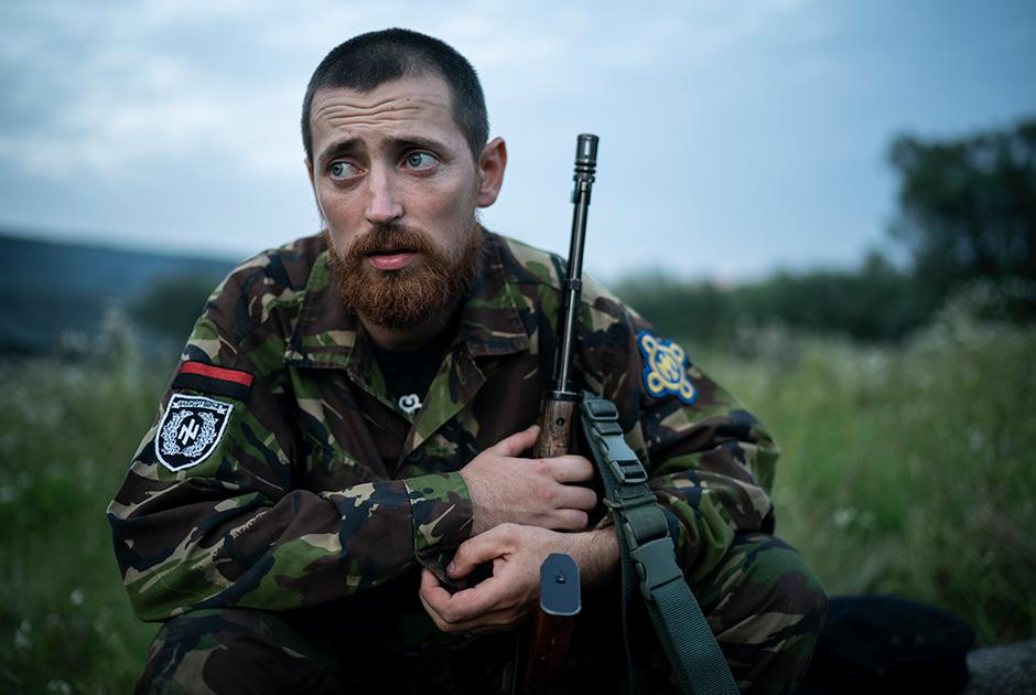 Юрий Черкашин (позывной Чернота)