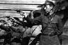 Сотрудники НКВД на занятиях по стрельбе, 1930-е годы.