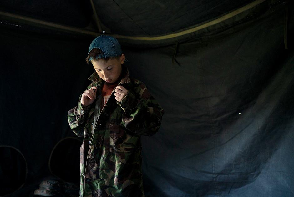 Младшему из кадетов всего восемь лет