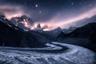 Изабелла Табакки сделала этот ночной снимок неподалеку от знаменитой горной хижины Монте-Роза, что в швейцарском Церматте.