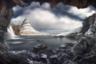 Исландский пейзаж от Алессандро Кантарелли был заявлен в категории фотографов-любителей.