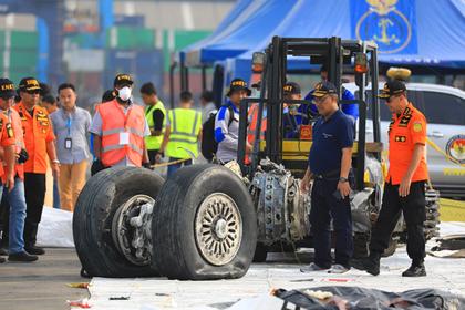 Появились подробности последних минут полета упавшего в Индонезии самолета