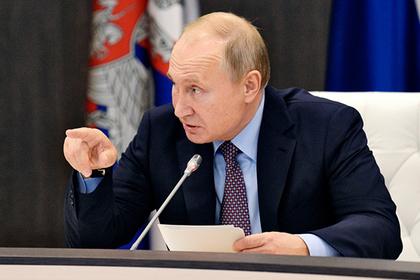 Путин отчитал власти за красивые формулировки и воззвал к реальности
