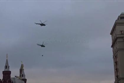 В небе над Кремлем снова появятся военные вертолеты