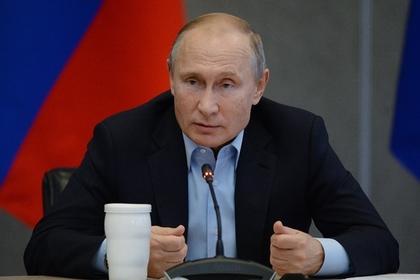 Путин предложил прекращать уголовные дела за плагиат и растрату