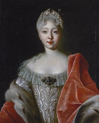 Портрет юной Елизаветы, 1720-е годы
