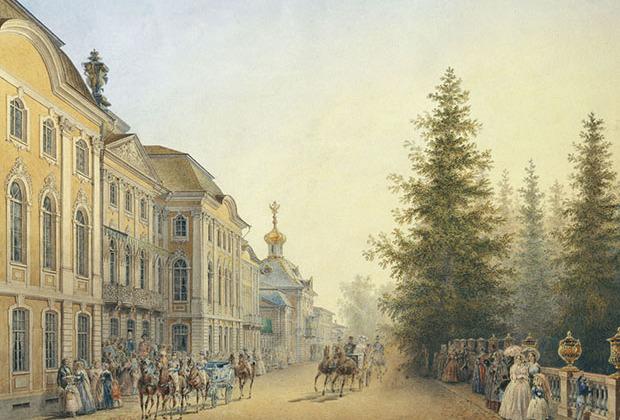 Несмотря на то что дворцовый комплекс в Петергофе строился в основном предшественниками Елизаветы Петровны, именно на ее правление пришелся золотой век дворца.
