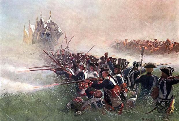 Семилетняя война охватила практически всю Европу и часть колоний великих держав. Для русской армии наступление в Пруссии стало первым зарубежным походом в истории.
