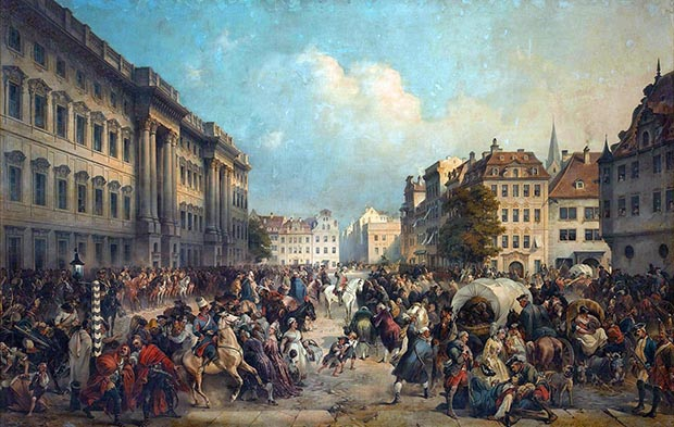 Моментом наивысшего триумфа русского оружия стало вступление в Берлин. Первое из трех в истории.