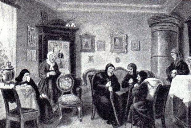 «Плакальщицы», 1882 год
