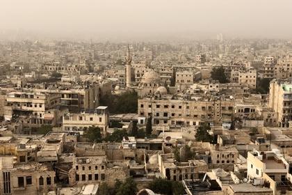 Сирийские власти назвали виновных в химической атаке в Алеппо