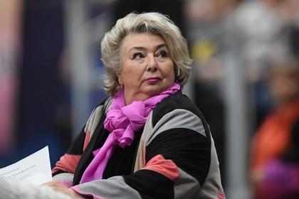 Тарасова заступилась за Медведеву