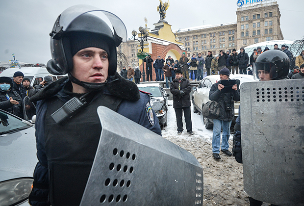 Полиция на Майдане