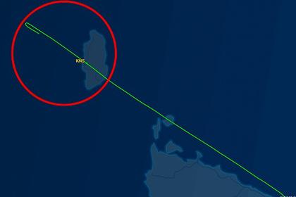 Пилот самолета заснул за штурвалом и проспал посадку