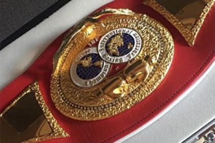 Решивший продать чемпионский пояс ради сына боксер передумал