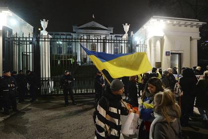 В Польше начались протесты из-за ситуации в Керченском проливе