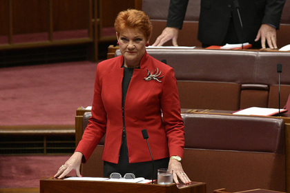 Австралийский сенатор Полина Хэнсон