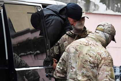 В Крыму начали арестовывать украинских моряков
