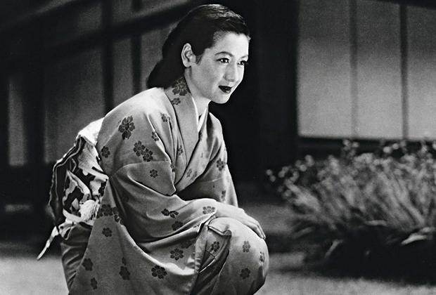 Сэцуко Хара в фильме «Поздняя весна», 1949 год