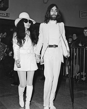 Джон Леннон и Йоко Оно, 1968 год