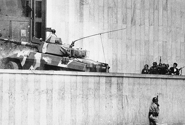 Штурм Дворца Правосудия в Боготе. 6 ноября 1985 года