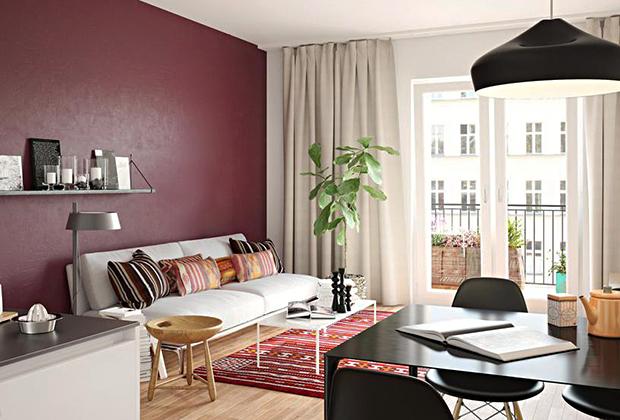 Апартаменты с одной спальней в Берлине, цена — 329 тысячи евро.