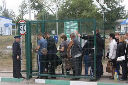 Запрет мужчинам посещать Украину переполошил россиян