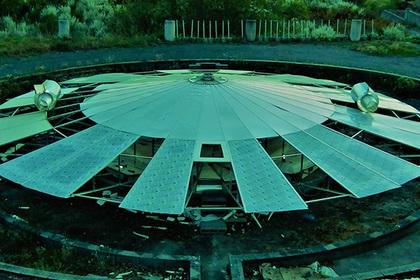 Испанский долгожитель построил летающую тарелку
