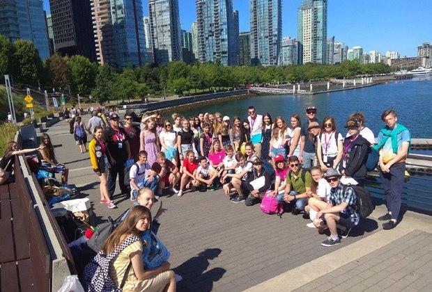 Ученики школы в Торонто