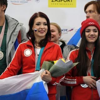 Екатерина Боброва и Евгения Медведева