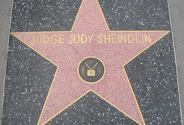 Звезда Шейндлин на Аллее Славы