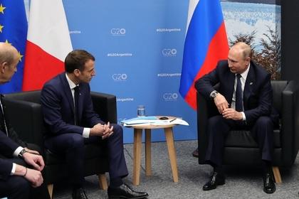 Путин творчески объяснил Меркель и Макрону про Керченский пролив