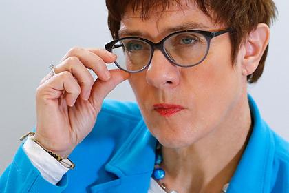Кандидат на пост Меркель оценила «Северный поток-2»