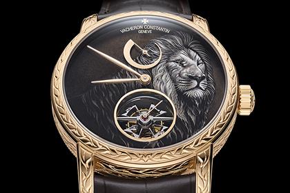 Диких животных воплотили в сложных часах  Часы  Ценности  Lenta.ru 4ed0b4a5886