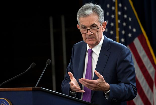 Глава Федеральной резервной системы США Джером Пауэлл