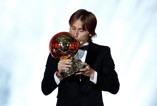 Лука Модрич уже с «Золотым мячом»