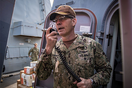 Названа причина смерти командующего Пятым флотом США