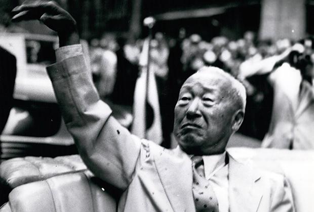 Ли Сын Ман в Нью-Йорке, 1959 год