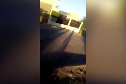 Самолет упал на жилой дом в Мексике
