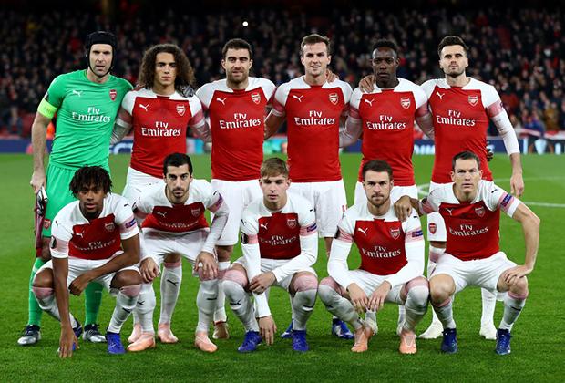 Игроки «Арсенала»