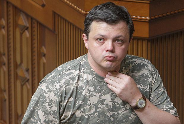 Бывший командир добровольческого батальона «Донбасс» Семен Семенченко